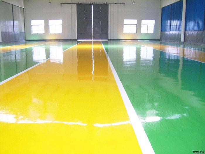 环氧树脂防滑地坪涂装