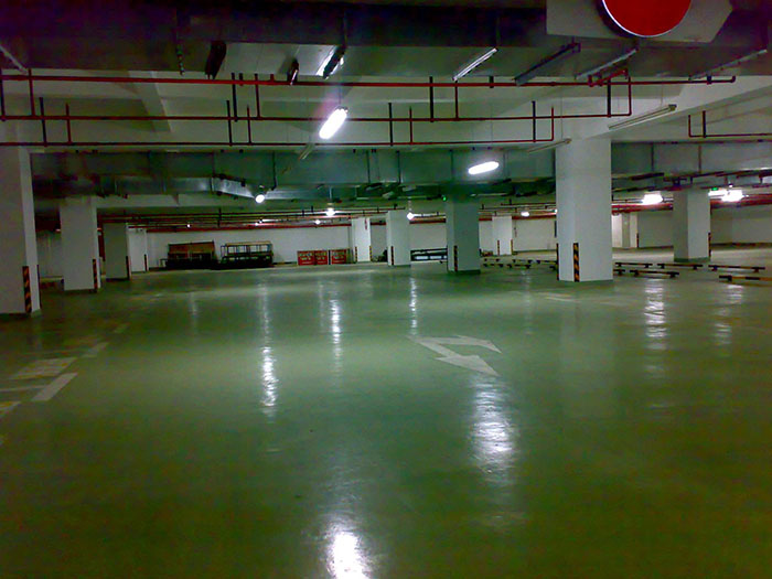 环氧树脂微珠超耐磨地坪涂装