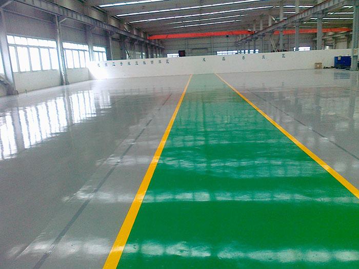 环氧树脂砂浆型地坪涂装