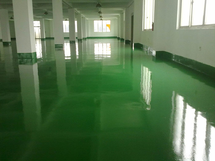 环氧树脂平涂型地坪涂装